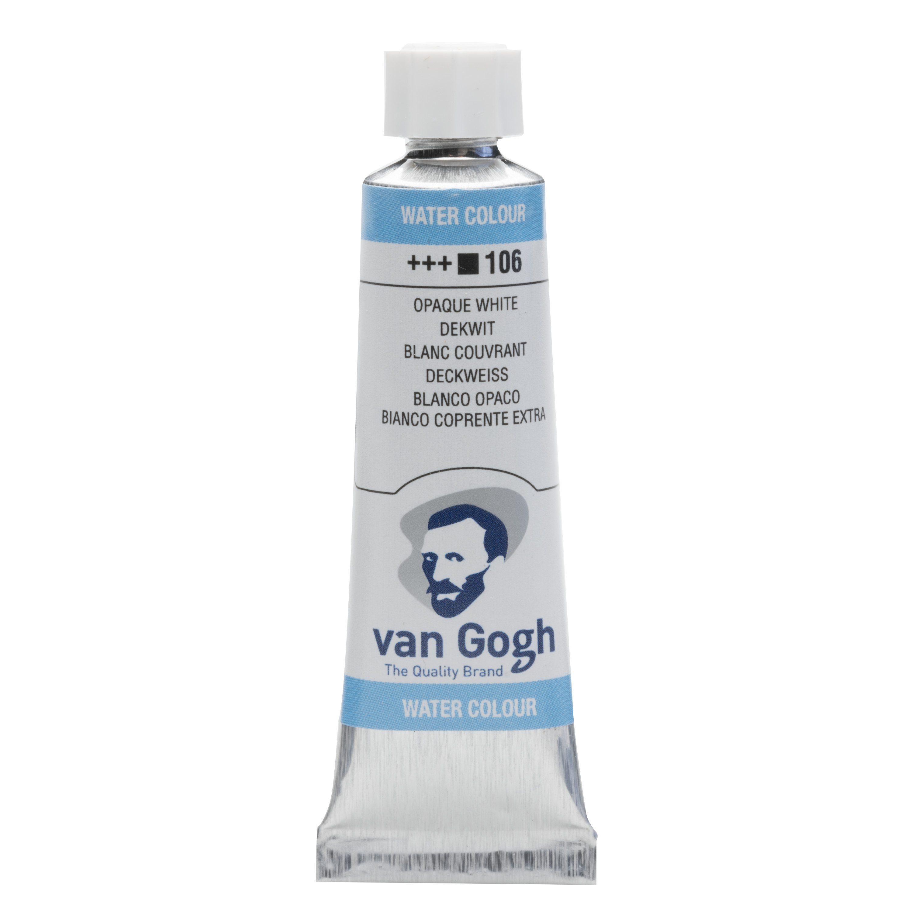 Van Gogh Watercolour Tube 10 ml Opaque White 106