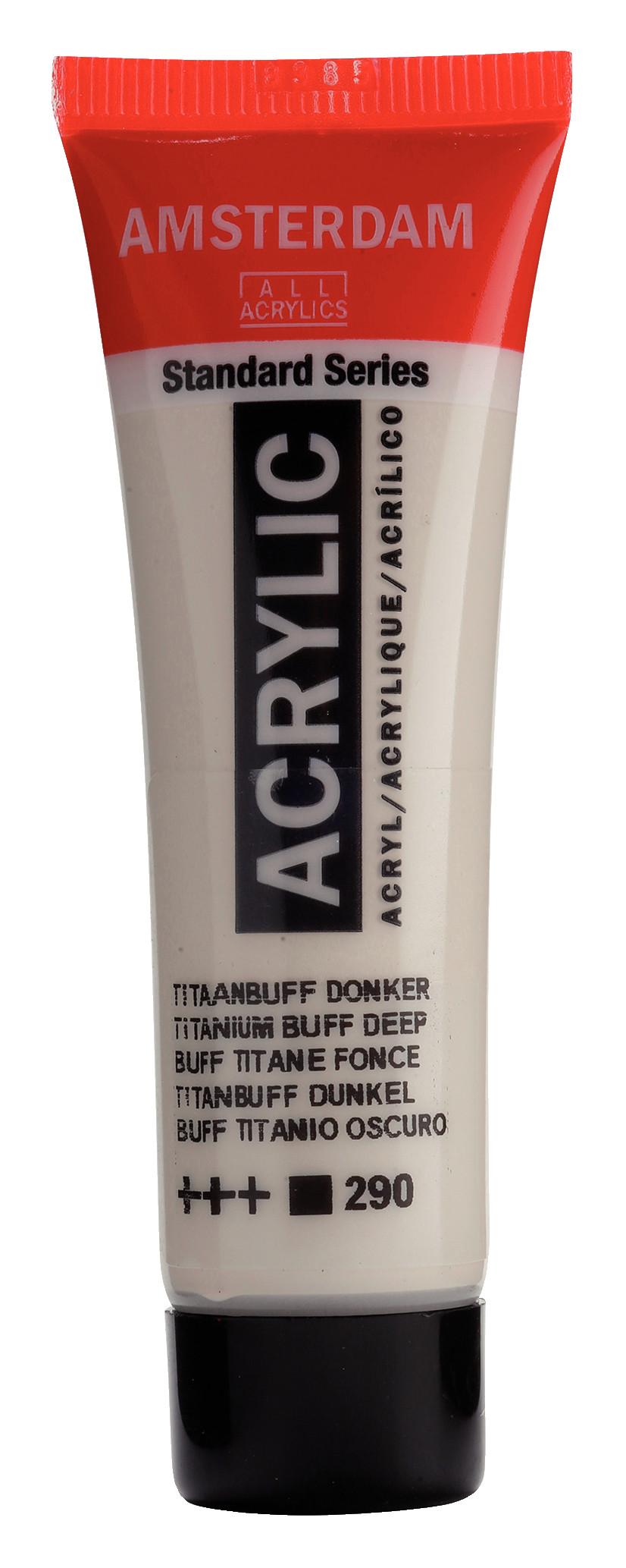 Amsterdam Standard Series Acrylic Tube 20 ml Titanium buff deep 290