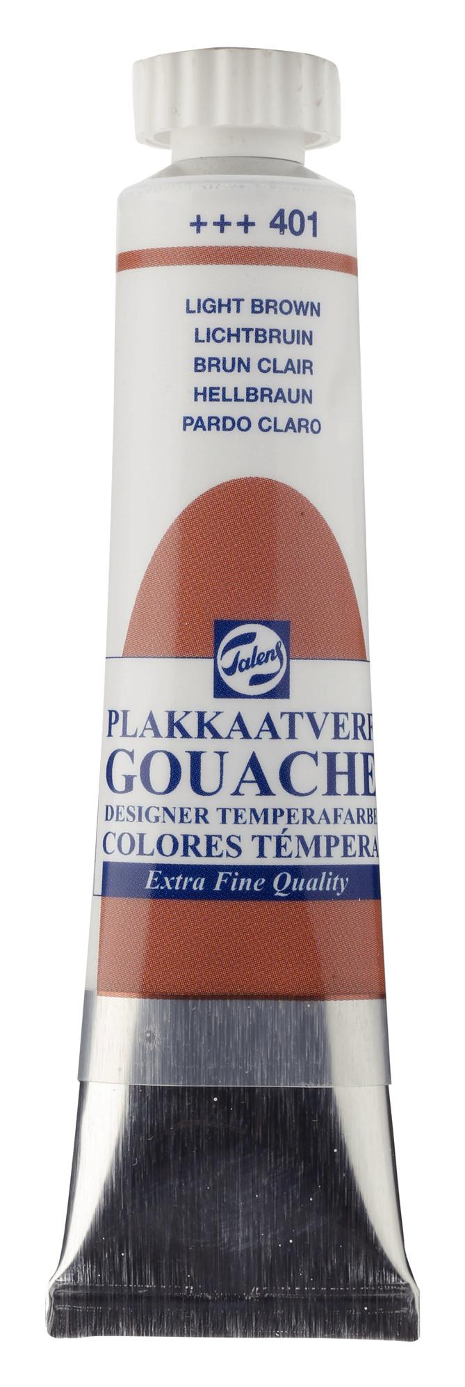 Gouache Extra Fine Quality Tube 20 ml Light Brown 401