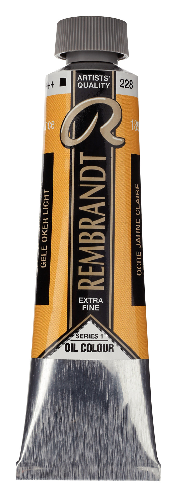 Rembrandt Oil colour Paint Yellow Ochre Light (228) 40ml Tube