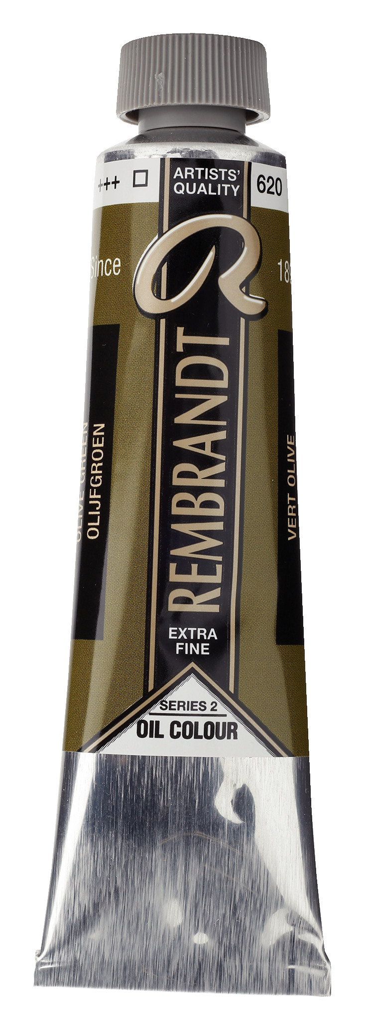 Rembrandt Oil colour Paint Olive Green (620) 40ml Tube