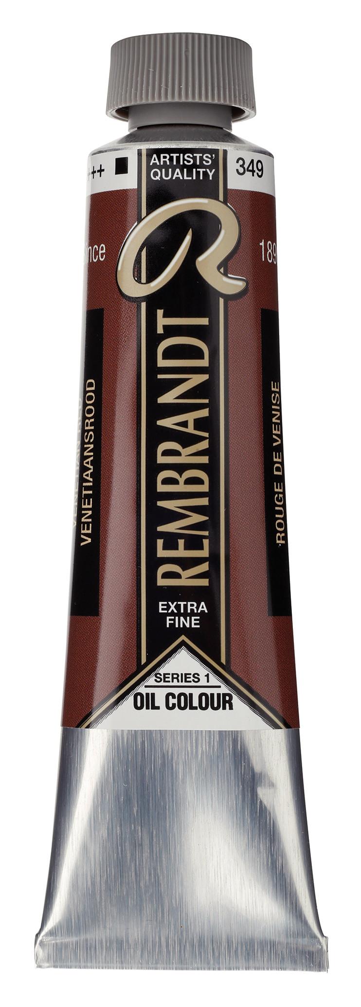 Rembrandt Oil colour Paint Venetian Red (349) 40ml Tube