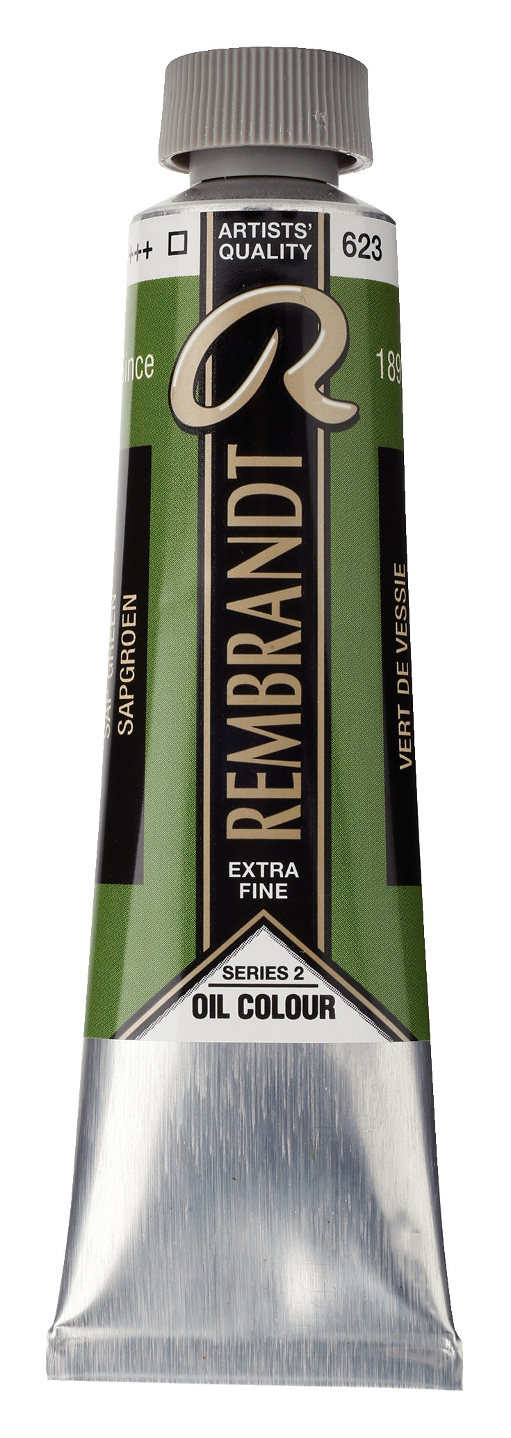 Rembrandt Oil colour Paint Sap Green (623) 40ml Tube