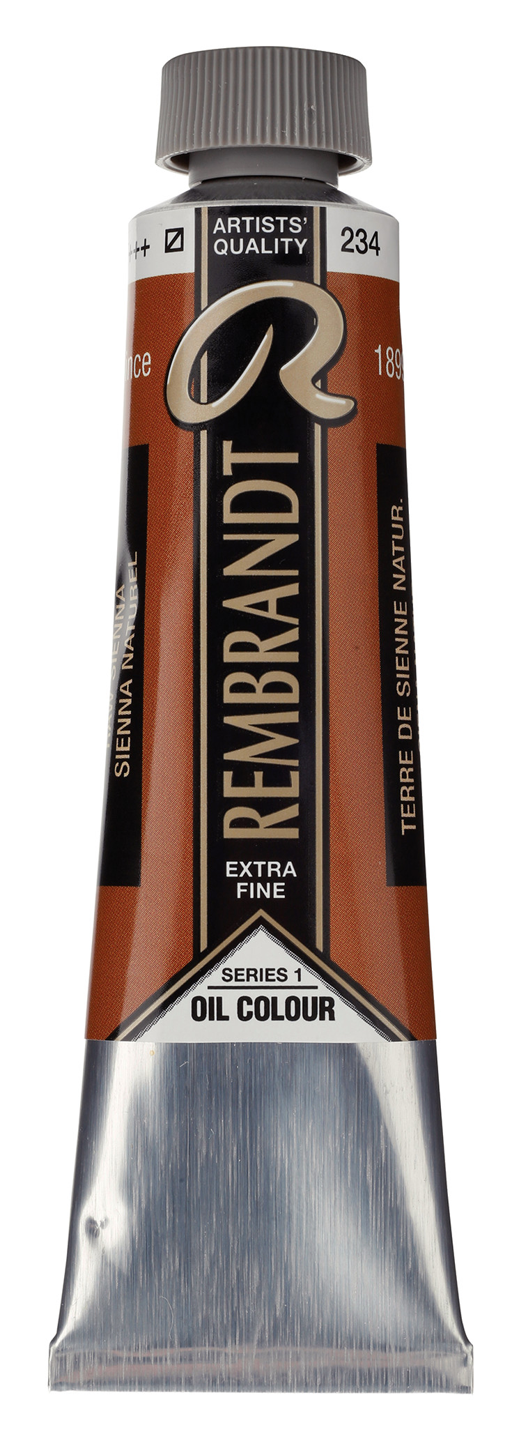 Rembrandt Oil colour Paint Raw Sienna (234) 40ml Tube