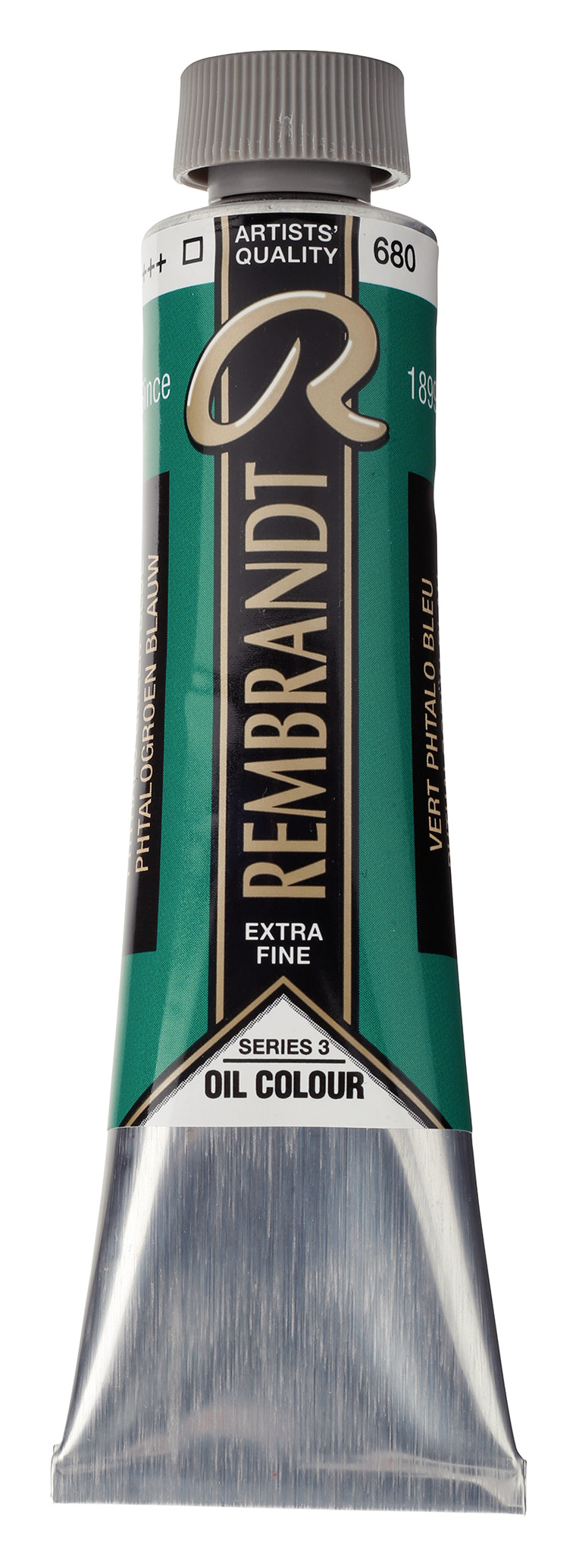 Rembrandt Oil colour Paint Phthalo Green Blue (680) 40ml Tube