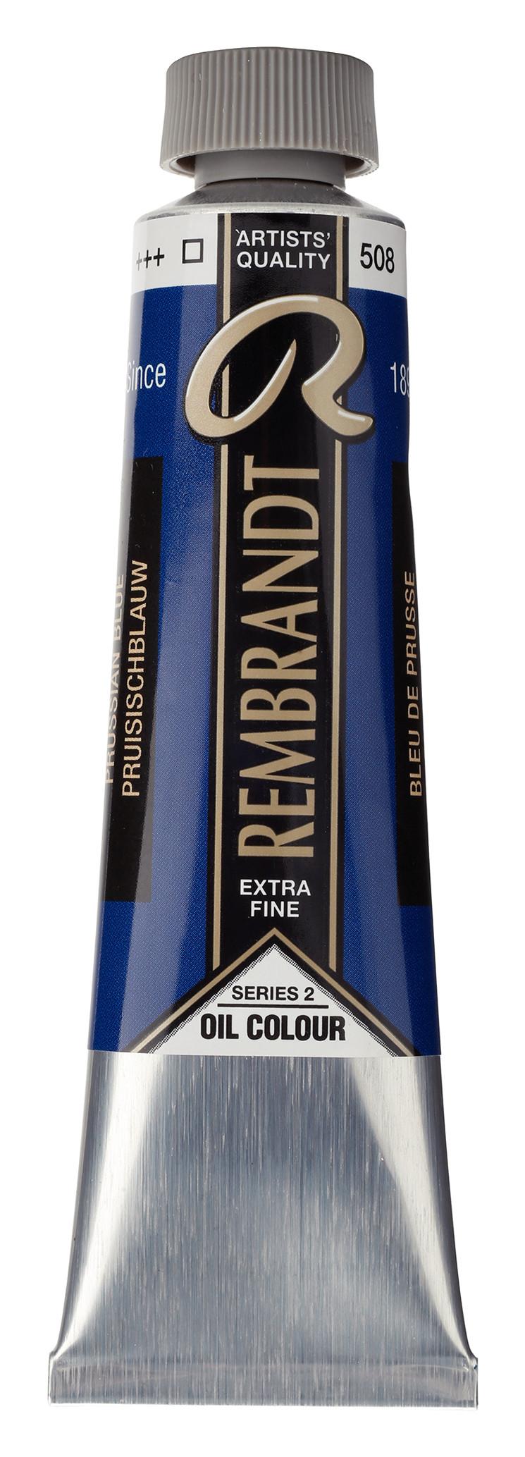Rembrandt Oil colour Paint Prussian Blue (508) 40ml Tube