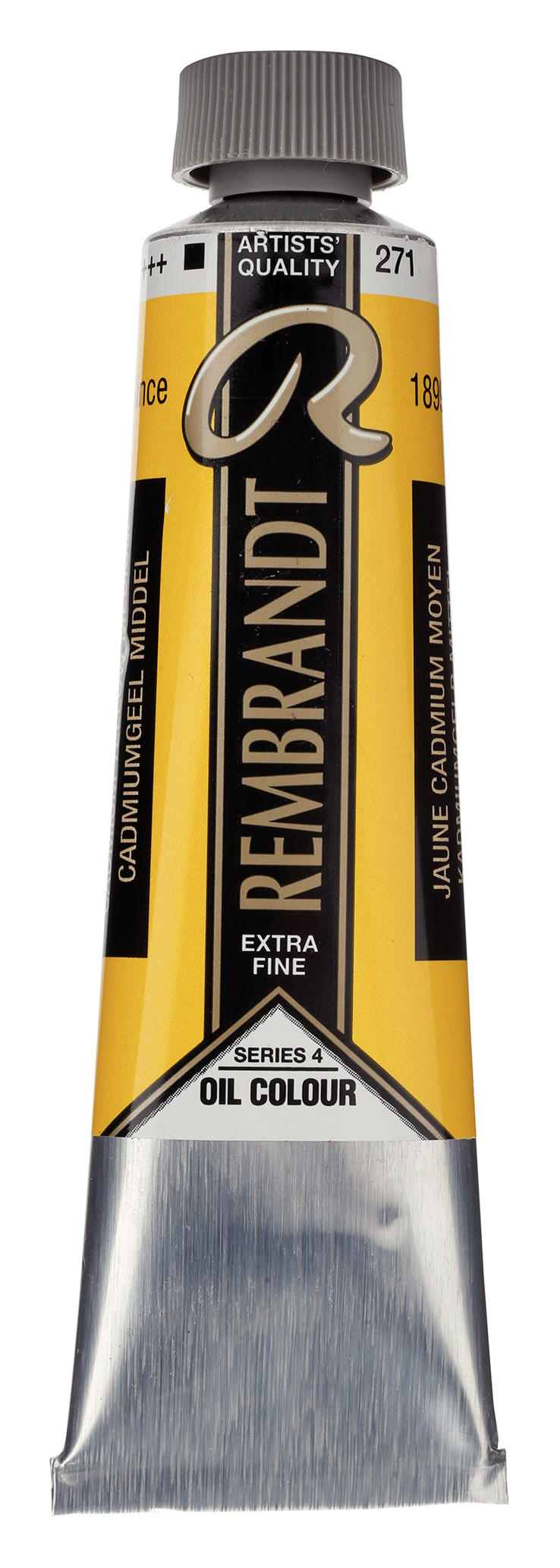 Rembrandt Oil colour Paint Cadmium Yellow Medium (271) 40ml Tube