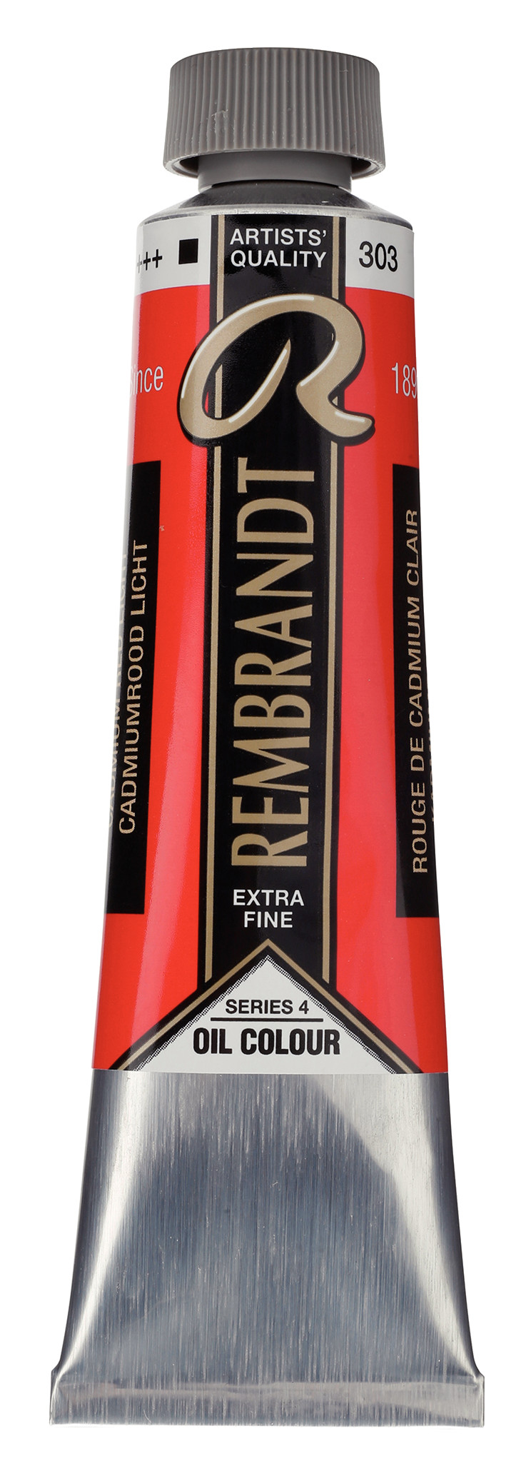 Rembrandt Oil colour Paint Cadmium Red Light (303) 40ml Tube