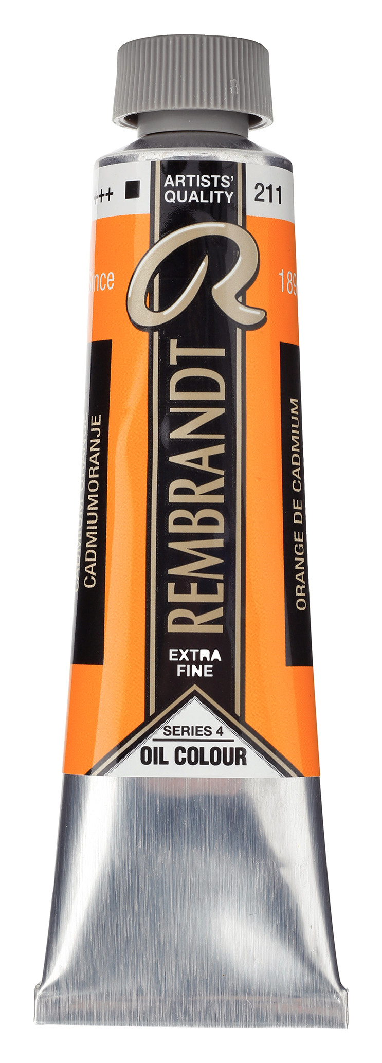 Rembrandt Oil colour Paint Cadmium Orange (211) 40ml Tube