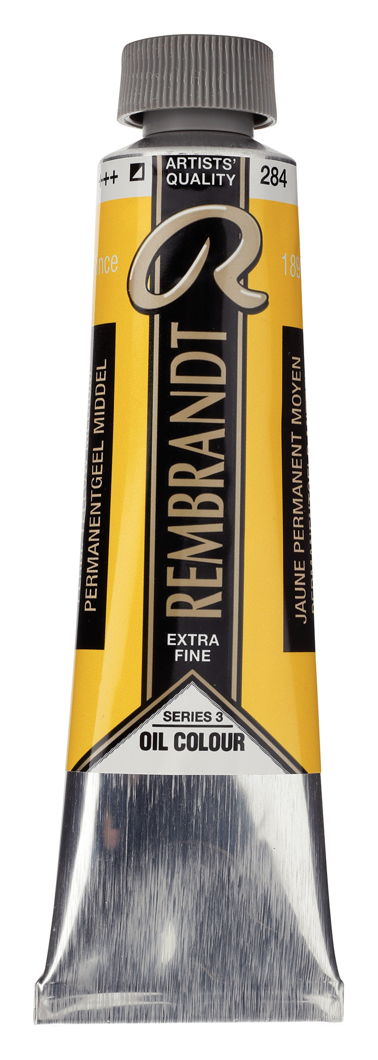 Rembrandt Oil colour Paint Permanent Yellow Medium (284) 40ml Tube