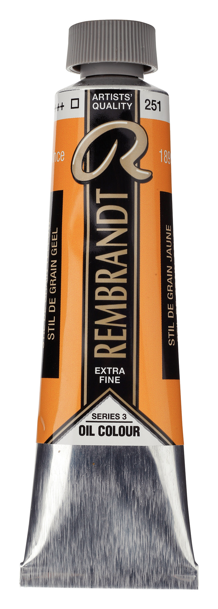 Rembrandt Oil colour Paint Stil de Grain Yellow (251) 40ml Tube