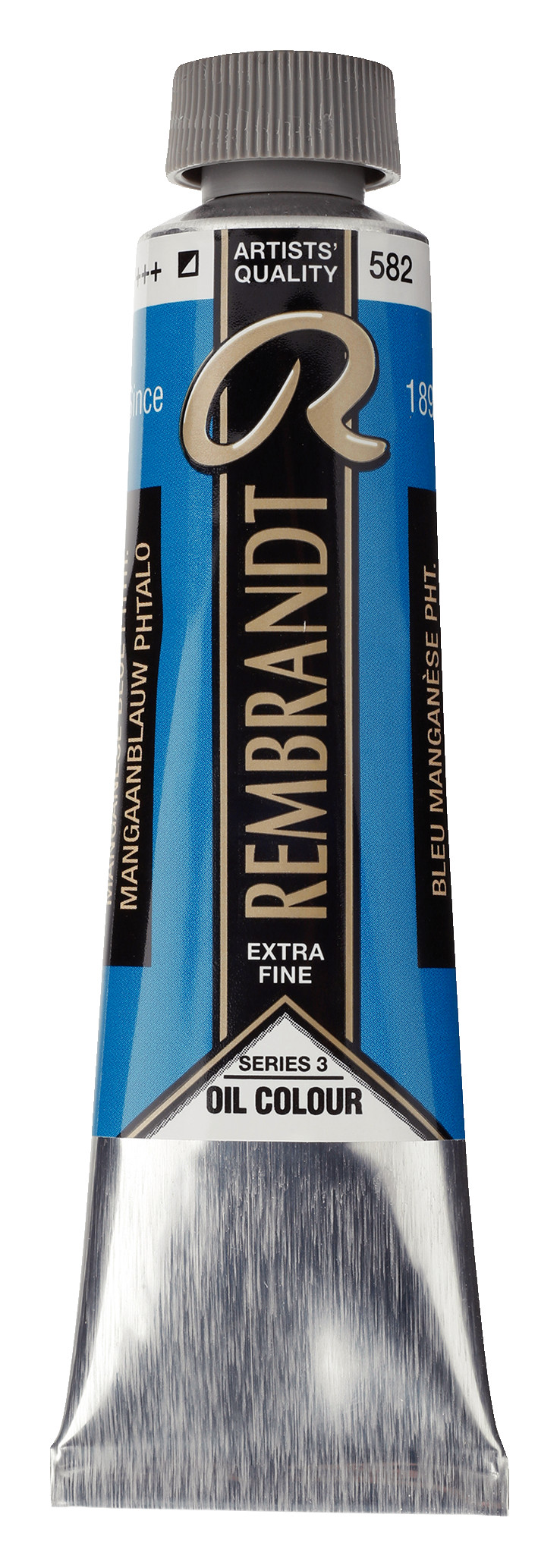 Rembrandt Oil colour Paint Manganese Blue Phthalo (582) 40ml Tube