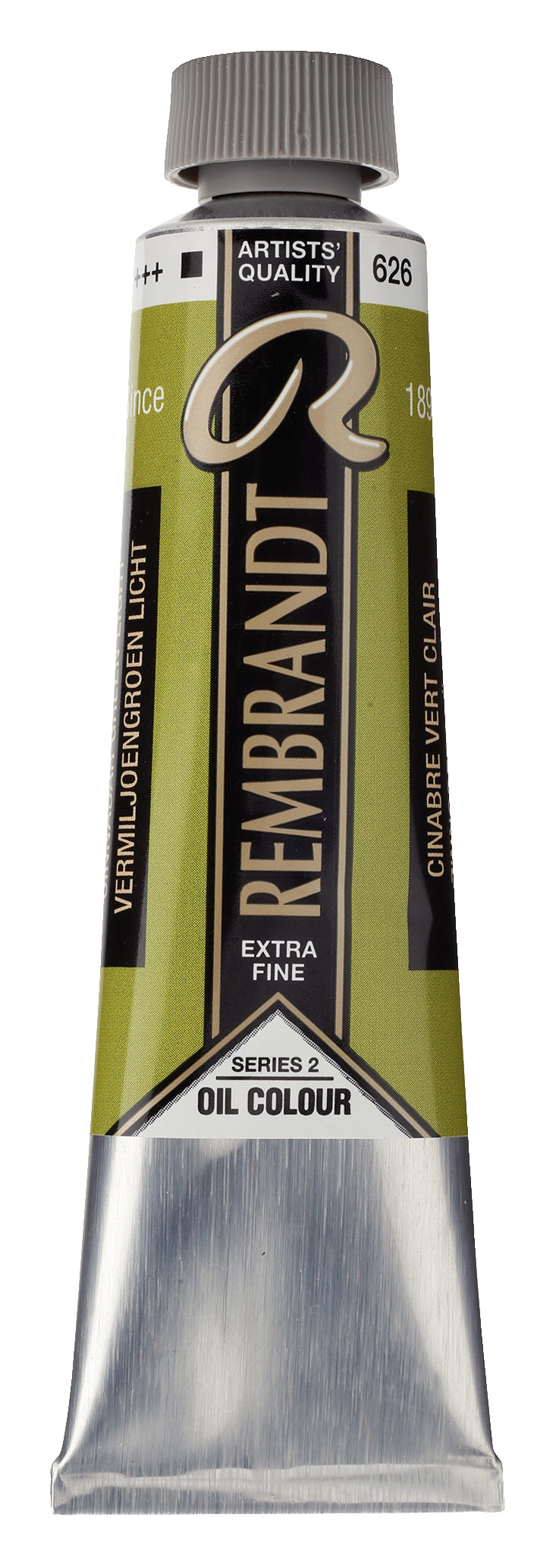 Rembrandt Oil colour Paint Cinnabar Green Light (626) 40ml Tube