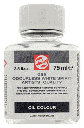 Odourless White Spirit Bottle 75 ml