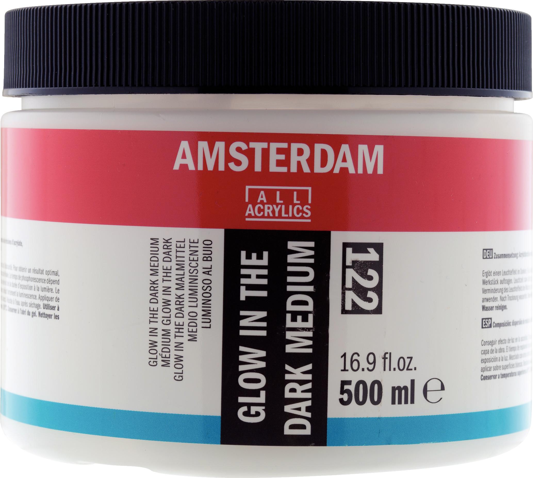 Amsterdam Glow-in-the-Dark Medium Jar 500 ml