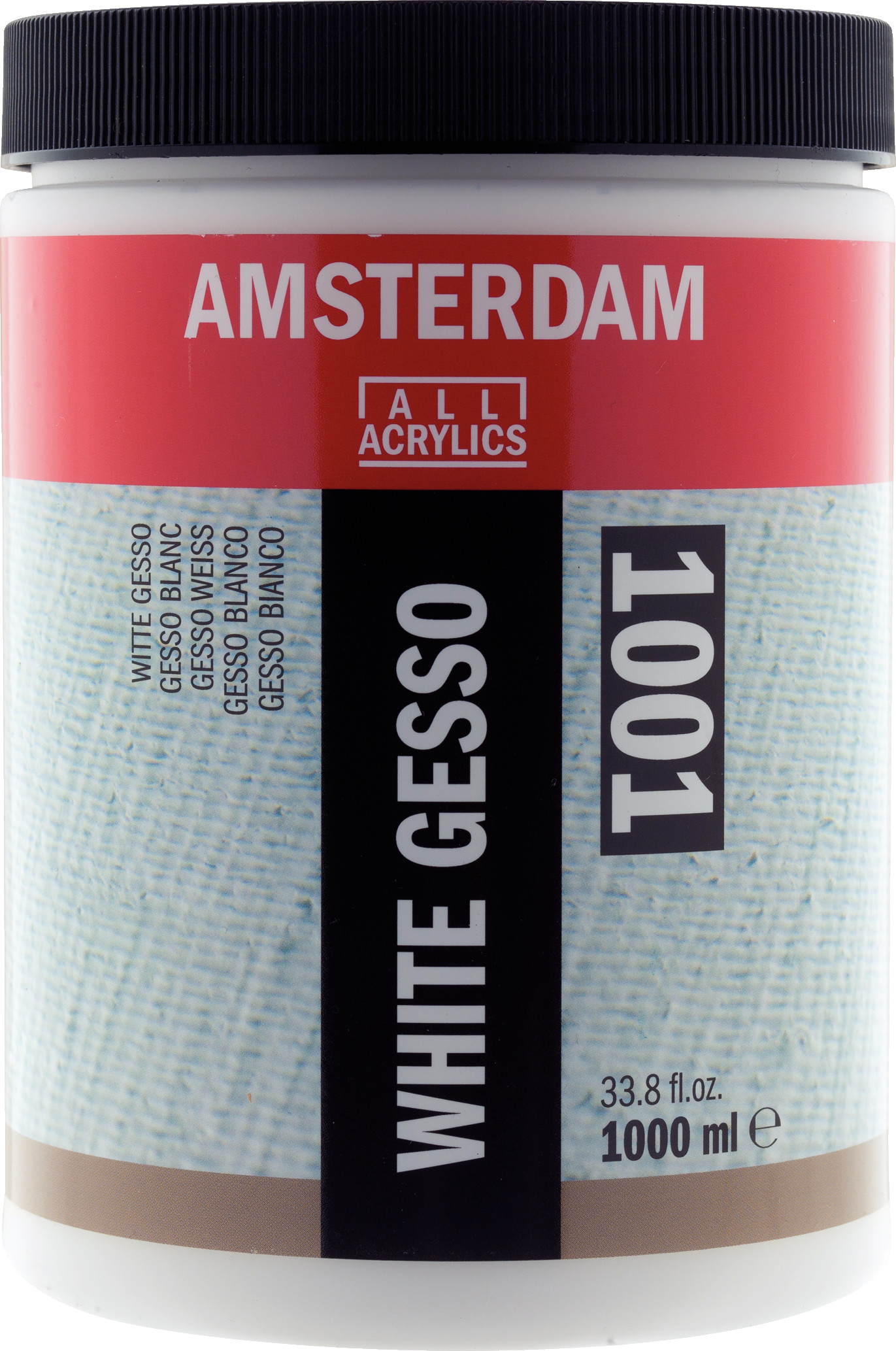 Amsterdam White Gesso Jar 1000 ml