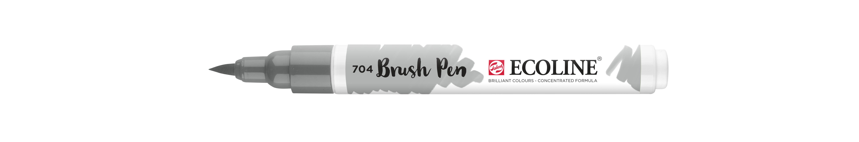 Ecoline Brush Pen Grey  704