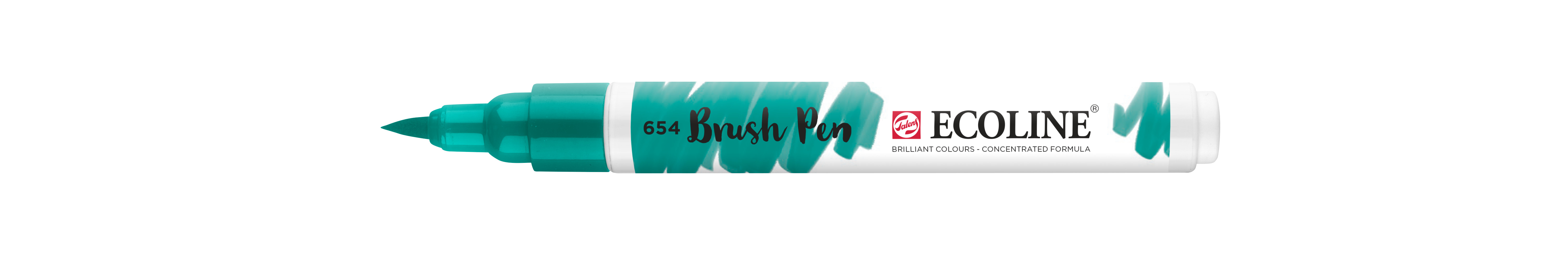 Ecoline Brush Pen Fir Green  654