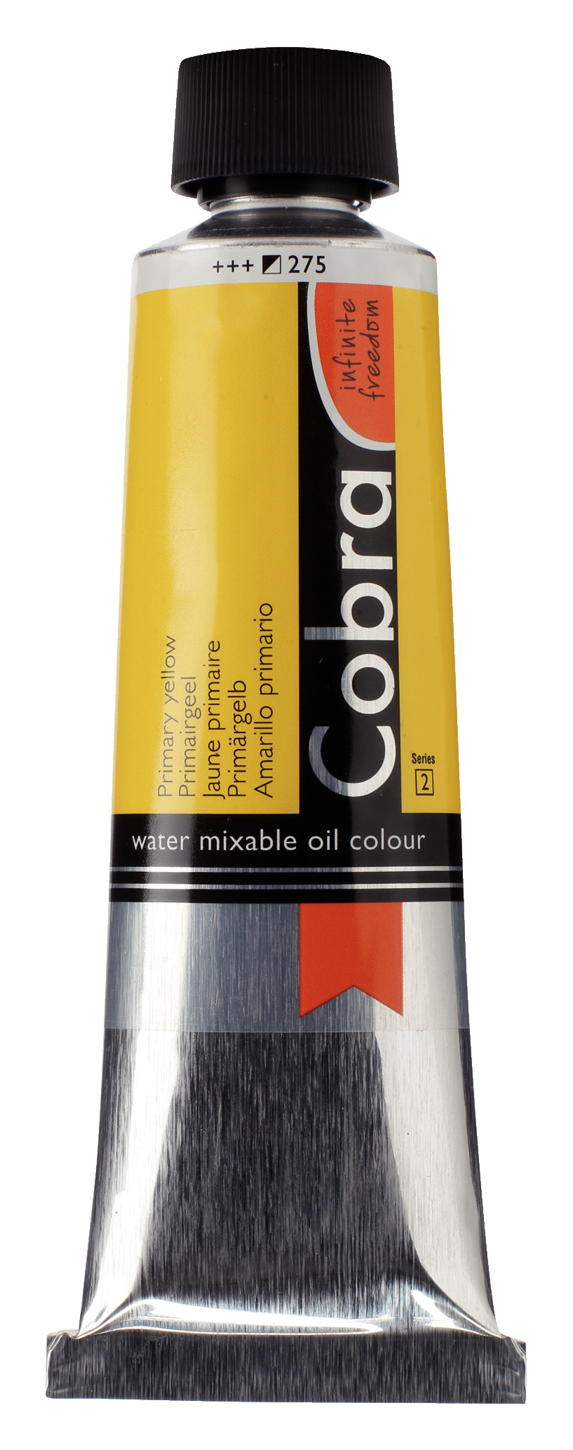 Cobra Artist Water Mixable Oil Colour Tube 150 ml Primary yellow 275