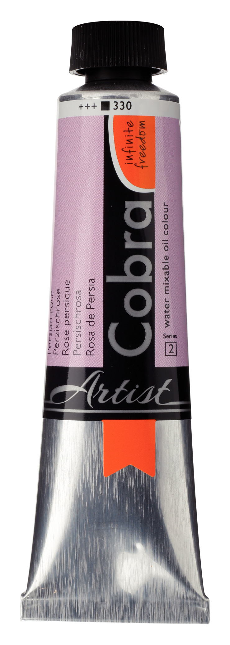 Cobra Artist Water Mixable Oil Colour Tube 40 ml Persian rose 330
