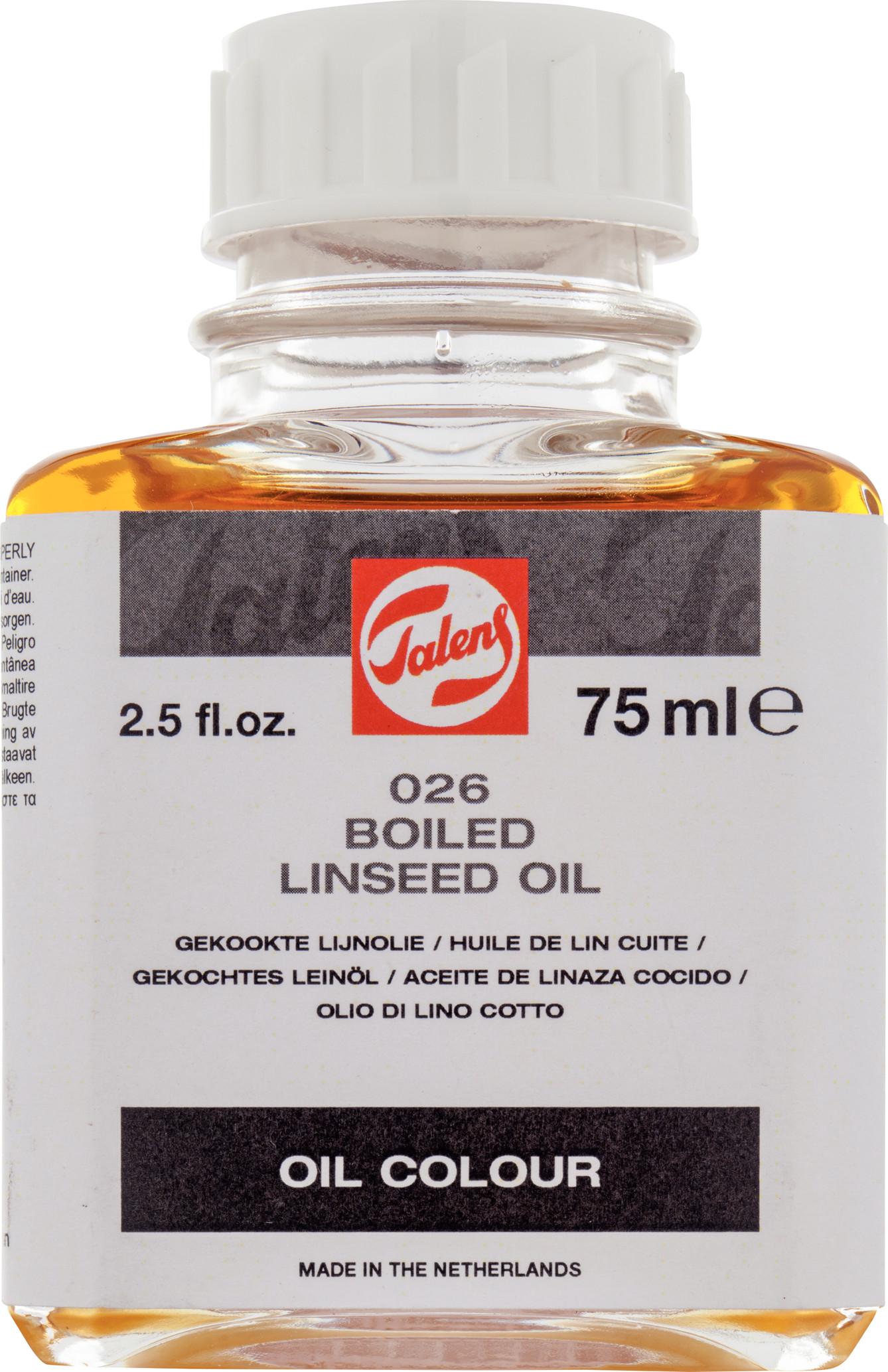 Boiled Linseed Oil Bottle 75 ml