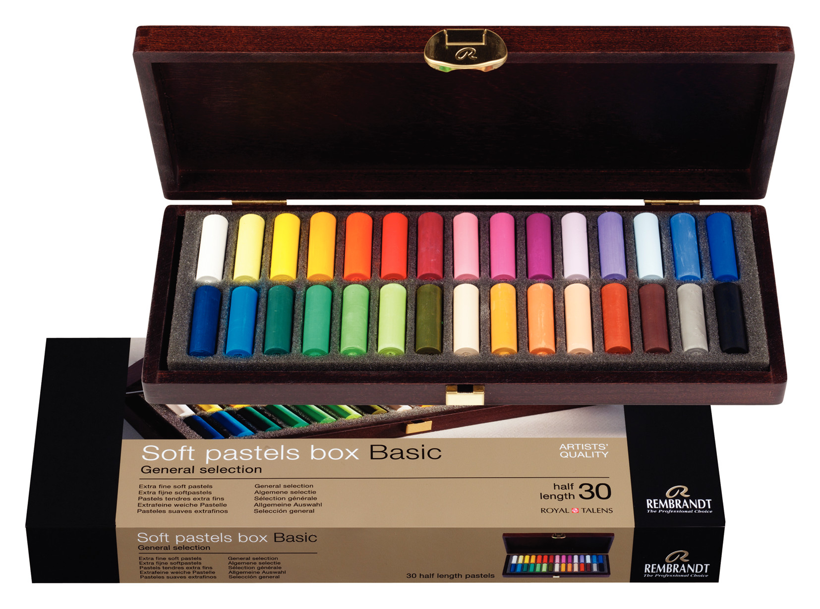 Rembrandt Soft Pastels General Selection Basic Box 300H30.5