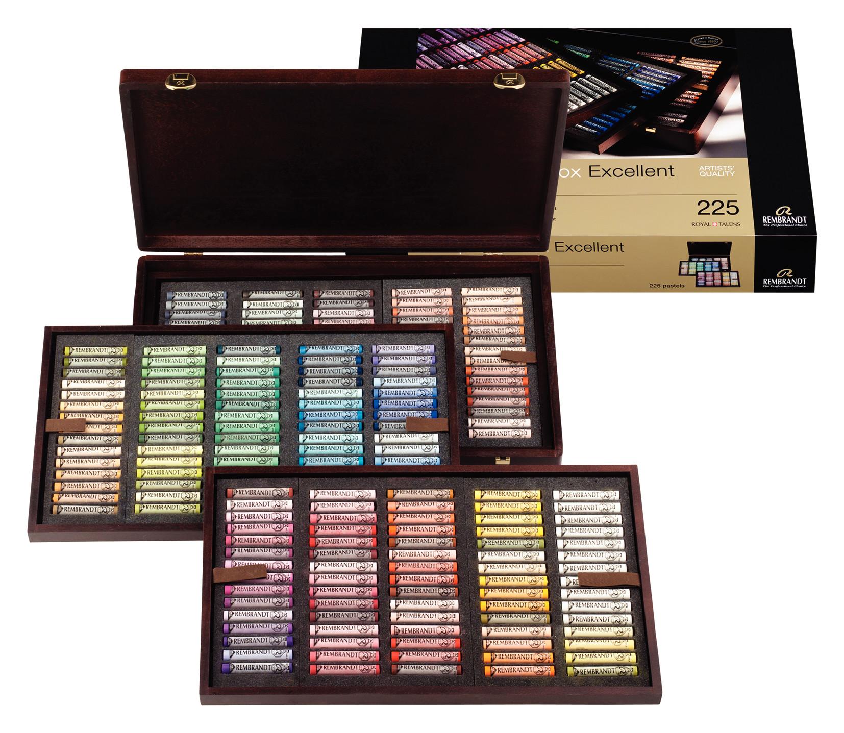 Rembrandt Soft Pastels Excellent Box H225