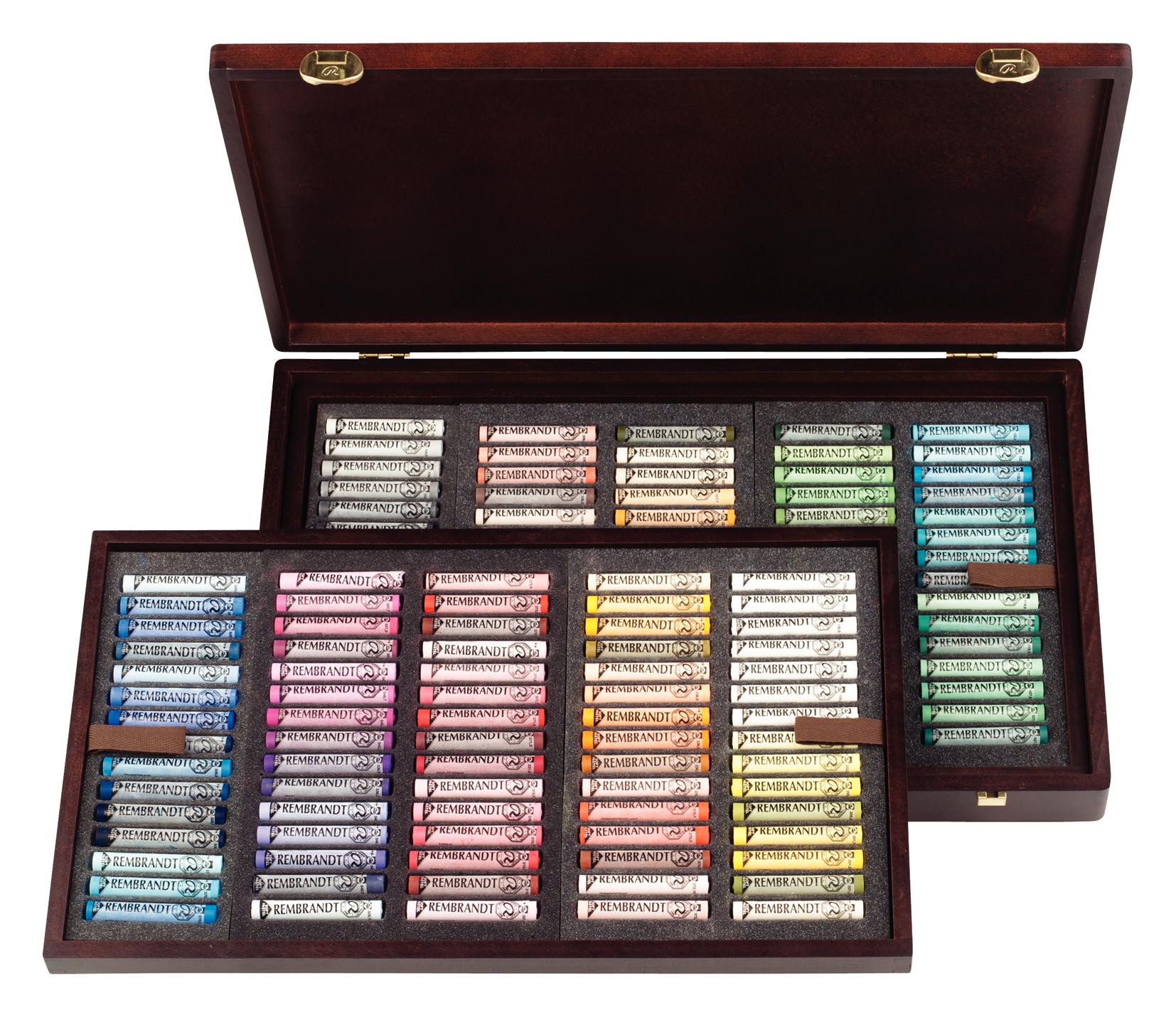 Rembrandt Soft Pastels General Selection Master Box H150
