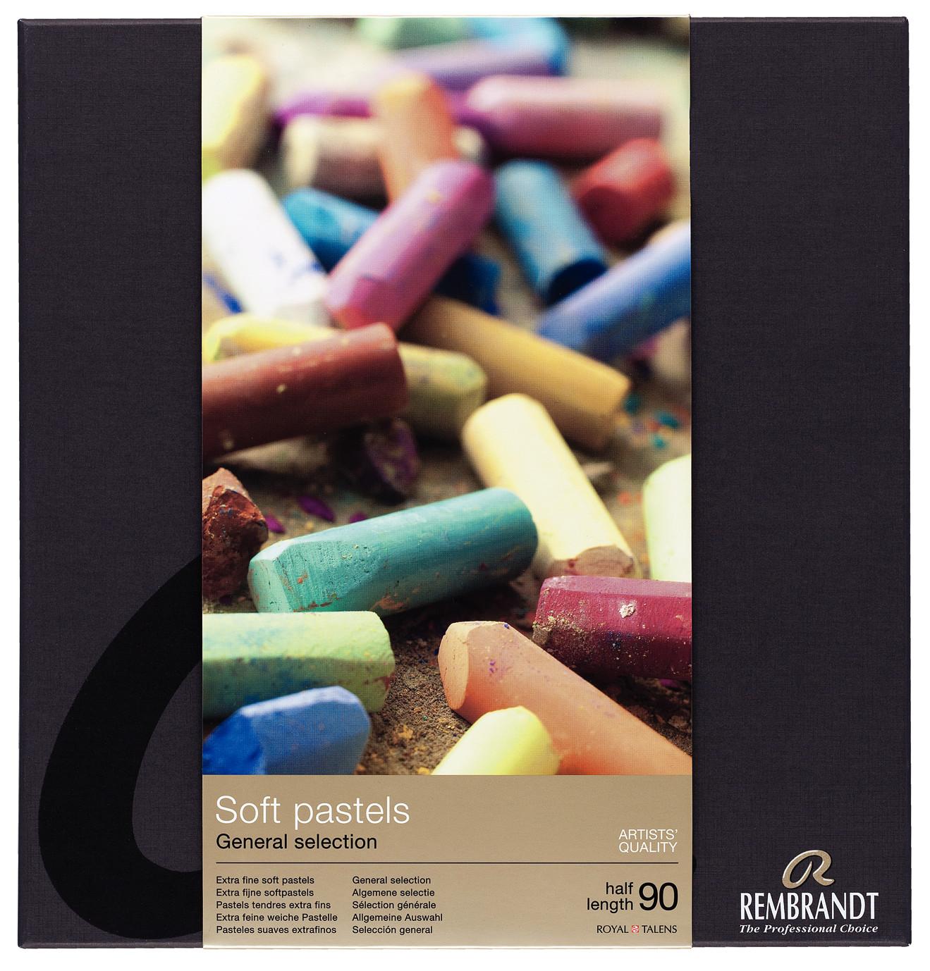 Rembrandt Soft Pastels General Selection Professional Set 300C90.5