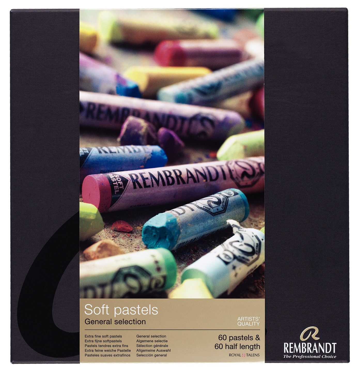 Rembrandt Soft Pastels General Selection Master Set 300C60/60.5