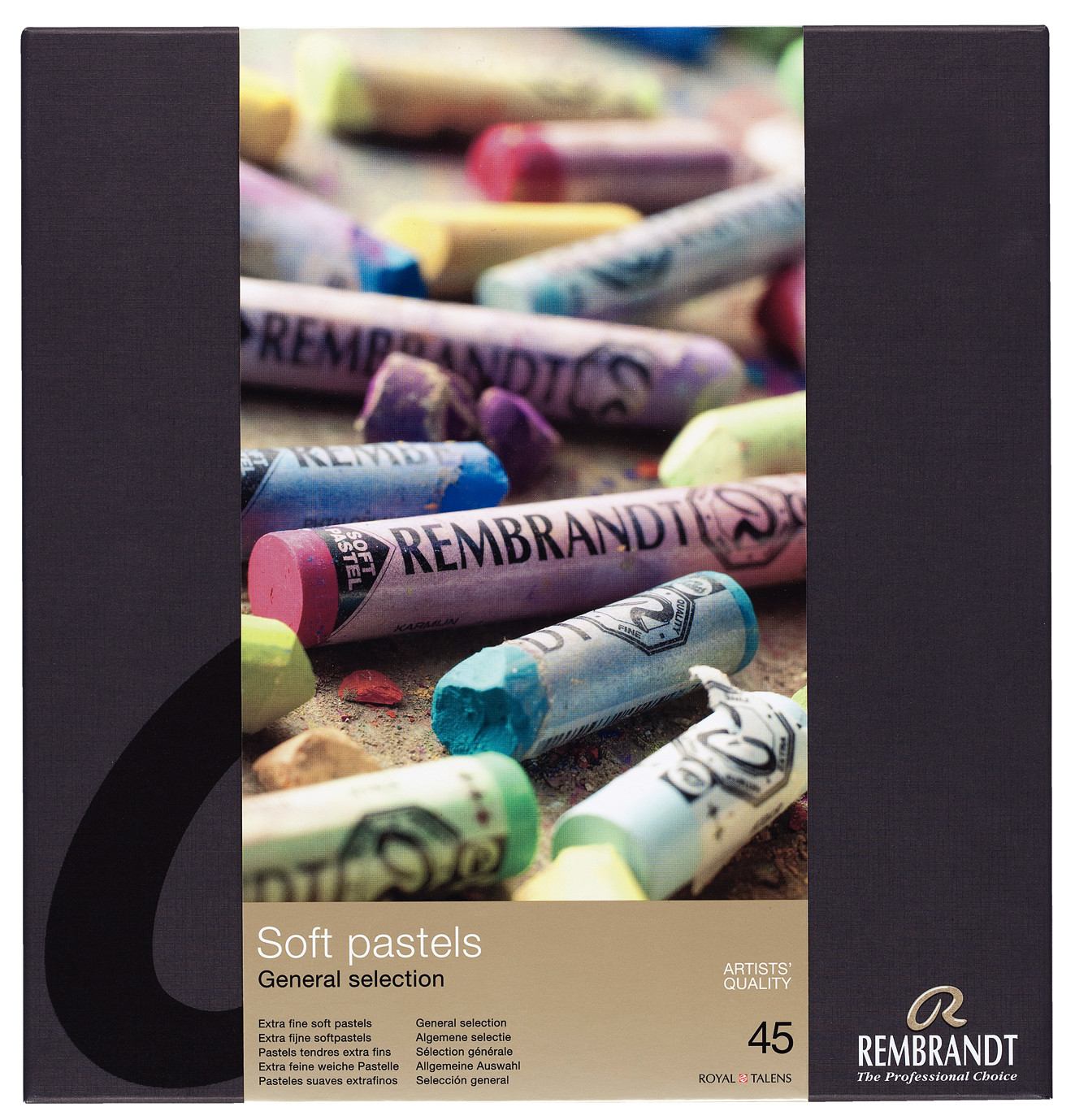 Rembrandt Soft Pastels General Selection Traditional Set 300C45