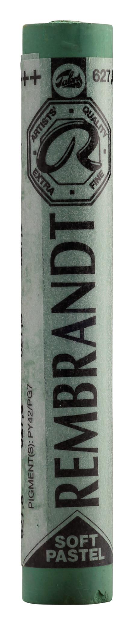 Rembrandt Soft Pastel Round Full Stick Cinnabar Green Deep(8) (627.8)