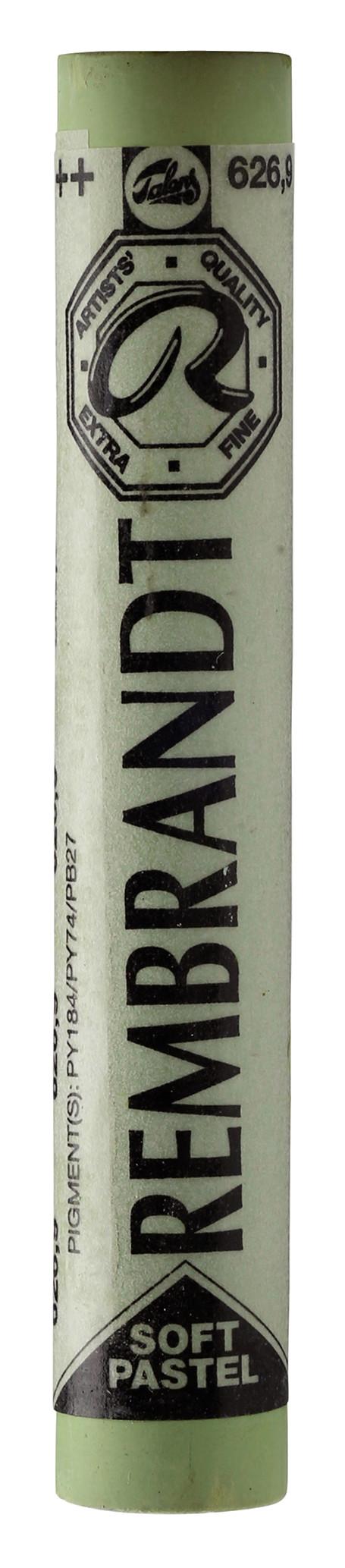 Rembrandt Soft Pastel Round Full Stick Cinnabar Green Light(9) (626.9)
