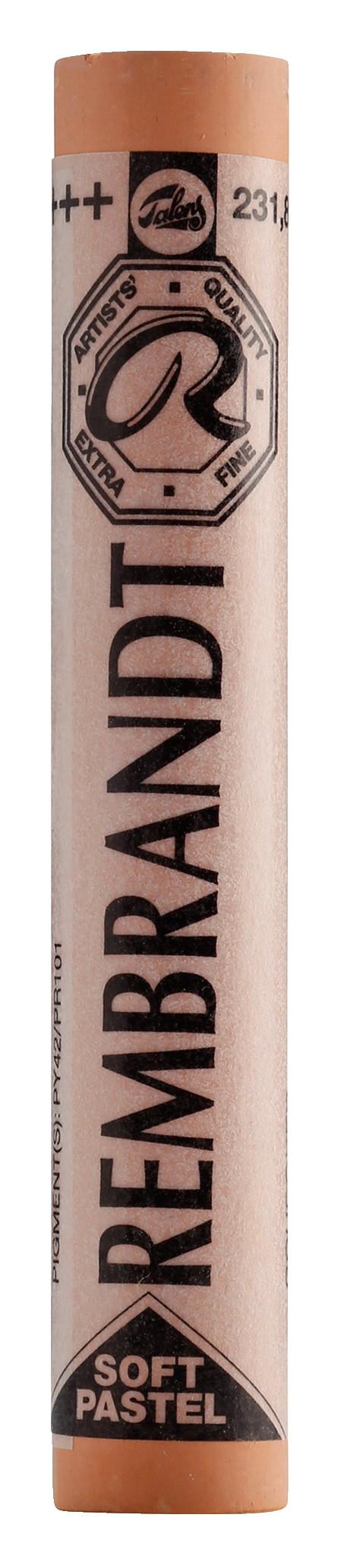 Rembrandt Soft Pastel Round Full Stick Gold Ochre(8) (231.8)