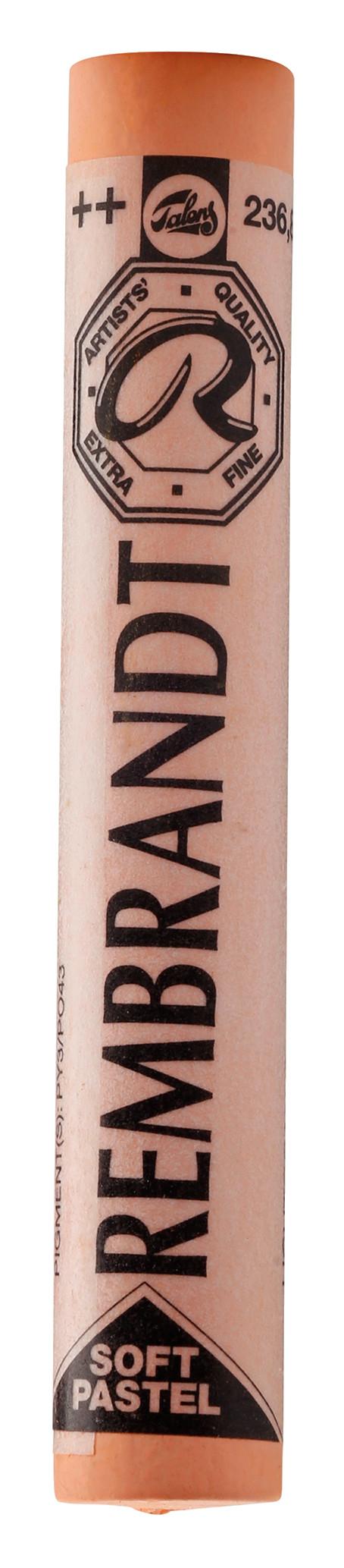 Rembrandt Soft Pastel Round Full Stick Light Orange(8) (236.8)