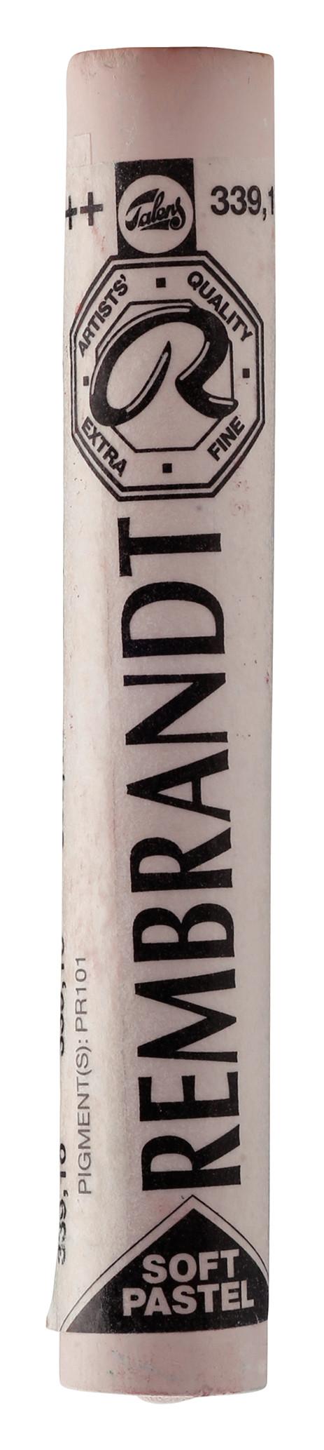Rembrandt Soft Pastel Round Full Stick Light Oxide Red(10) (339.1)