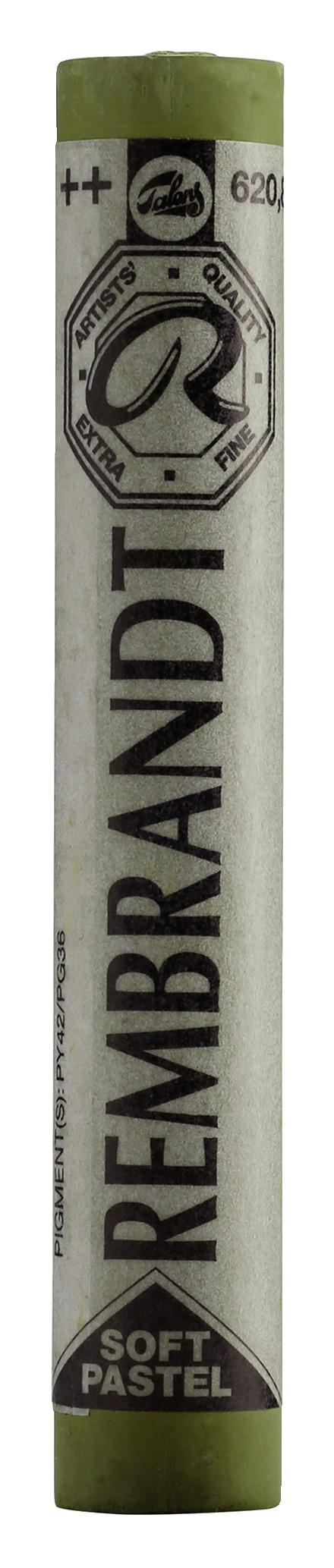 Rembrandt Soft Pastel Round Full Stick Olive Green(8) (620.8)