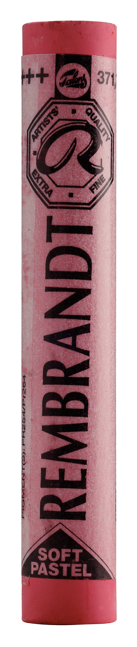 Rembrandt Soft Pastel Round Full Stick Permanent Red Deep(7) (371.7)