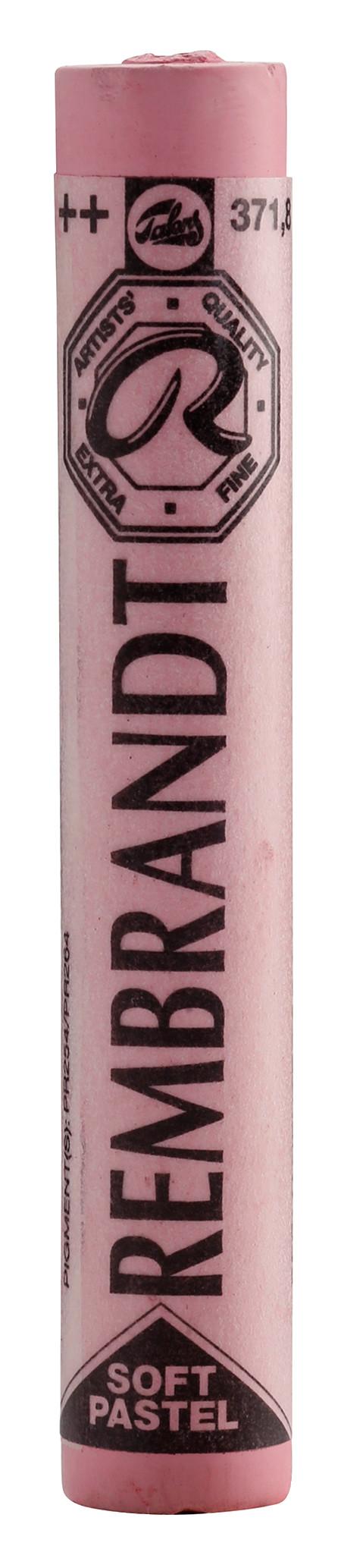 Rembrandt Soft Pastel Round Full Stick Permanent Red Deep(8) (371.8)