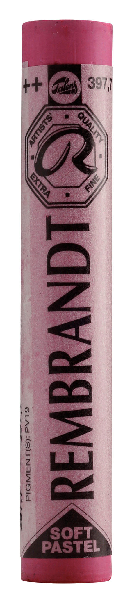 Rembrandt Soft Pastel Round Full Stick Permanent Rose(7) (397.7)
