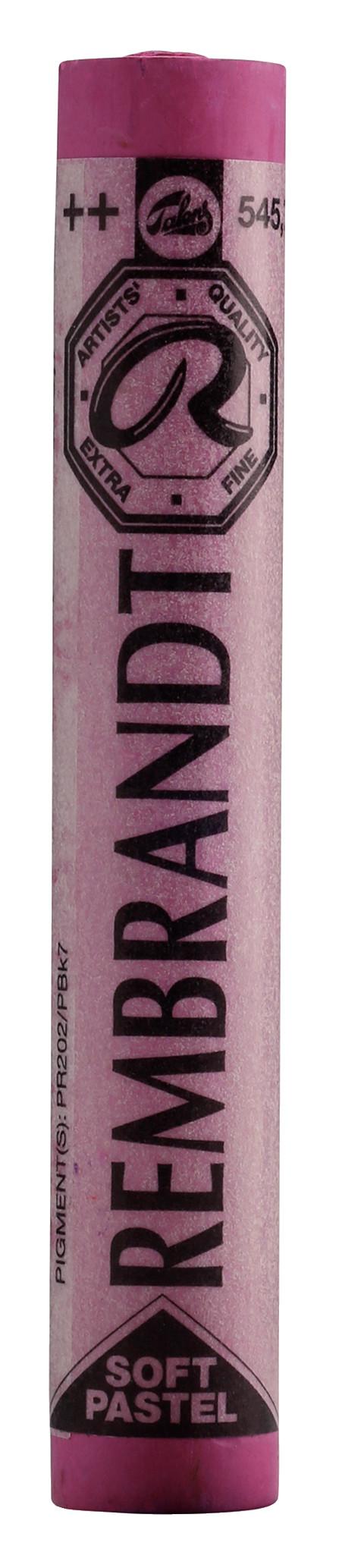 Rembrandt Soft Pastel Round Full Stick Red Violet(7) (545.7)