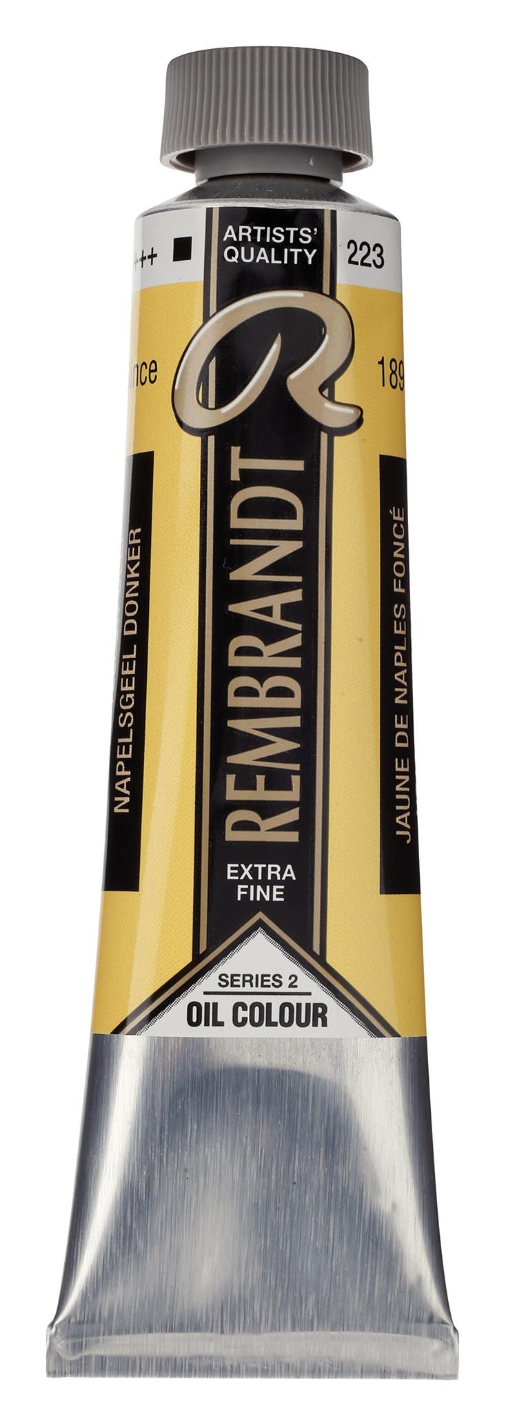 Rembrandt Oil colour Paint Naples Yellow Deep (223) 40ml Tube