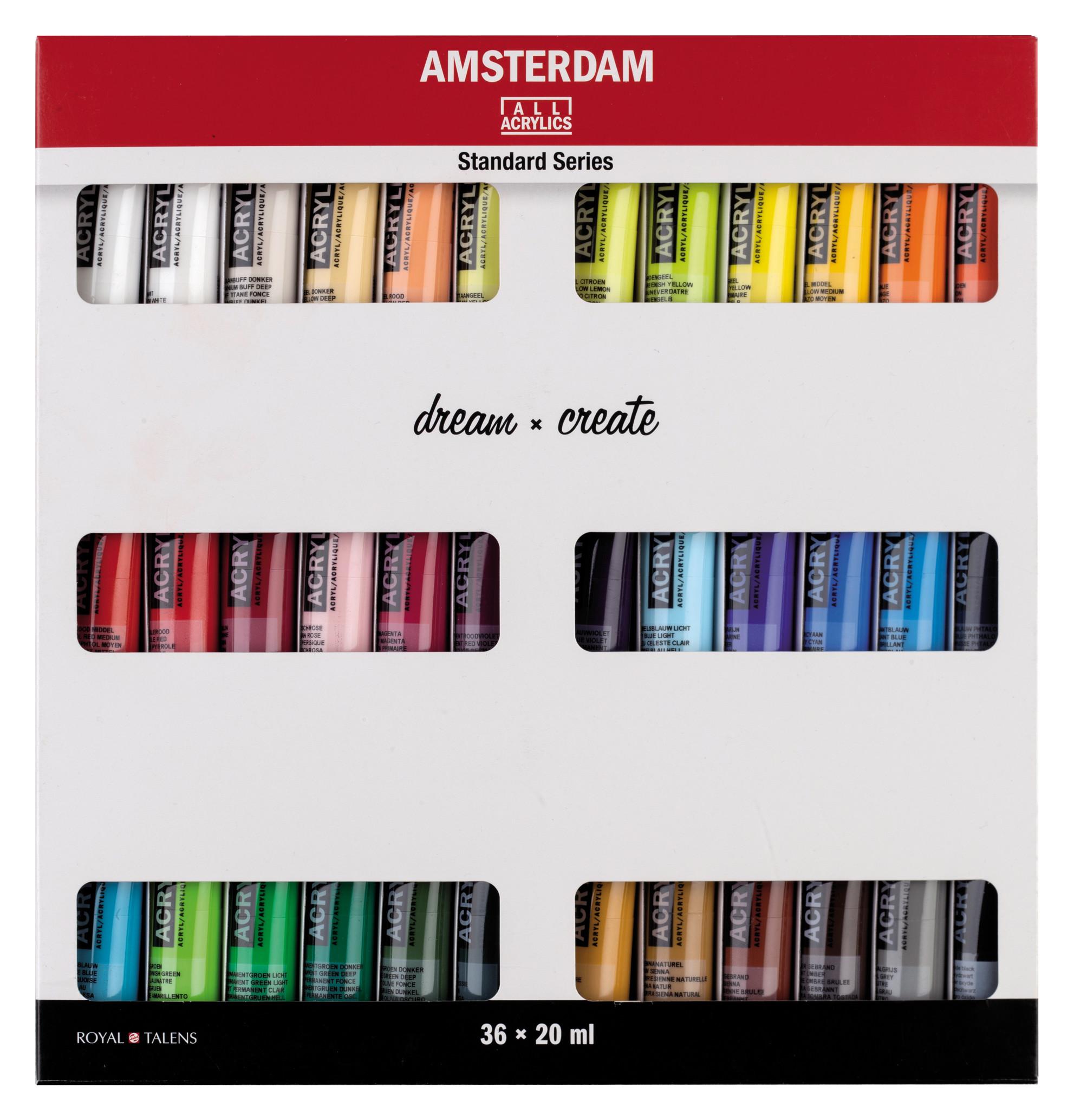 Amsterdam Standard Series Acrylics 36 x 20 ml Set
