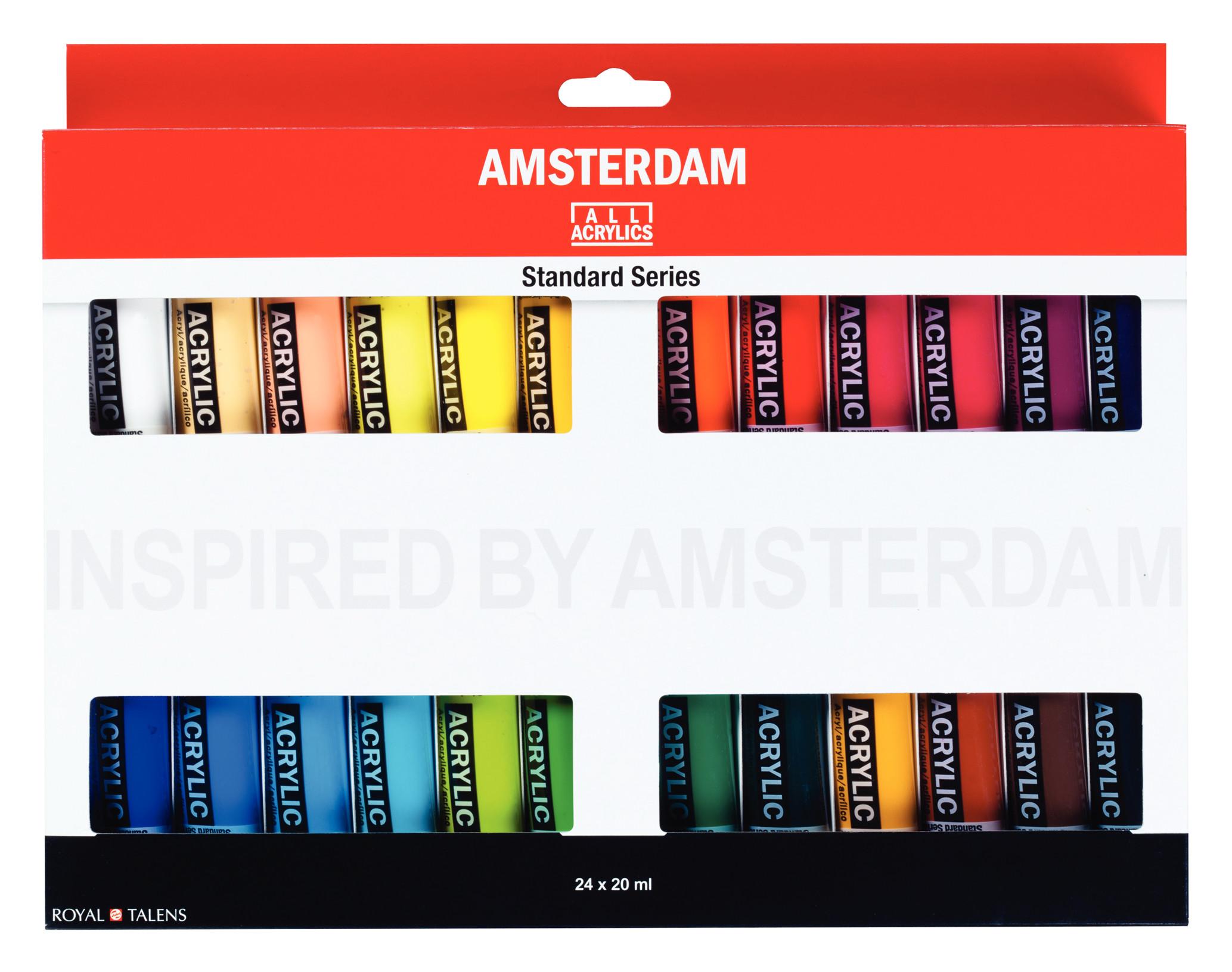 Amsterdam Standard Series Acrylics 24 x 20 ml Set