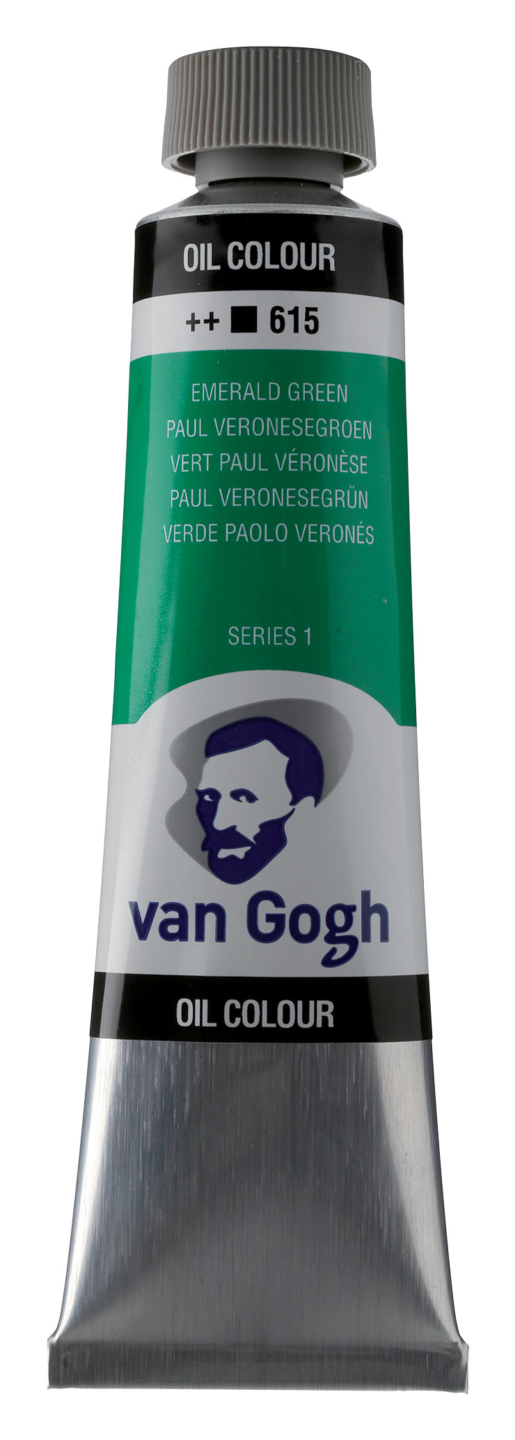 Van Gogh Oil Colour Tube 40 ml Emerald Green 615