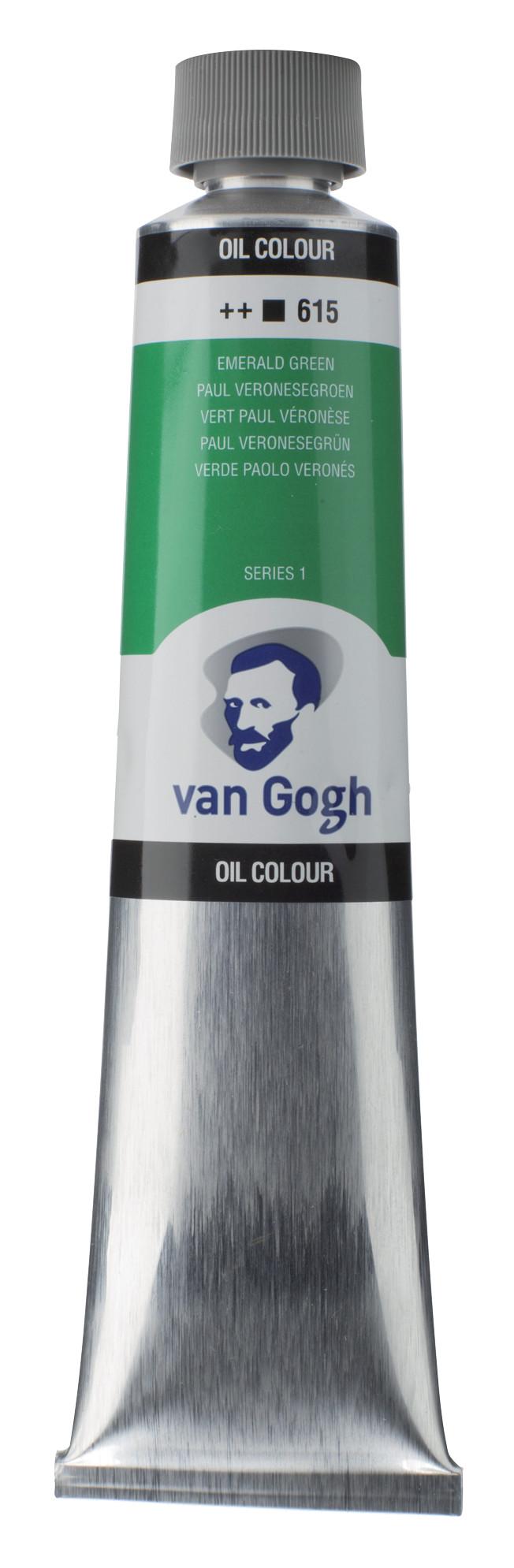 Van Gogh Oil Colour Tube 200 ml Emerald Green 615