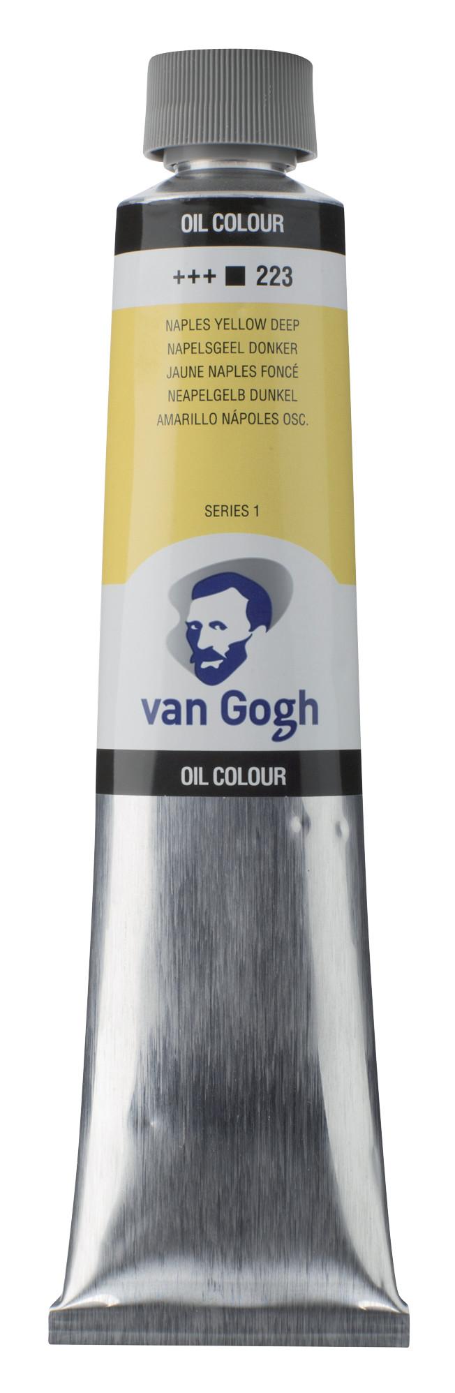 Van Gogh Oil Colour Tube 200 ml Naples Yellow Deep 223