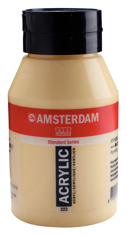 Amsterdam Standard Series Acrylic Jar 1000 ml Naples yellow deep 223