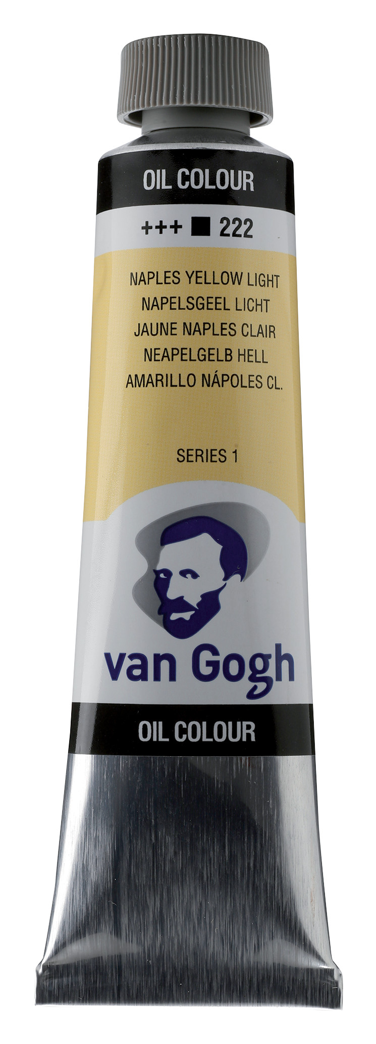 Van Gogh Oil Colour Tube 40 ml Naples Yellow Light 222