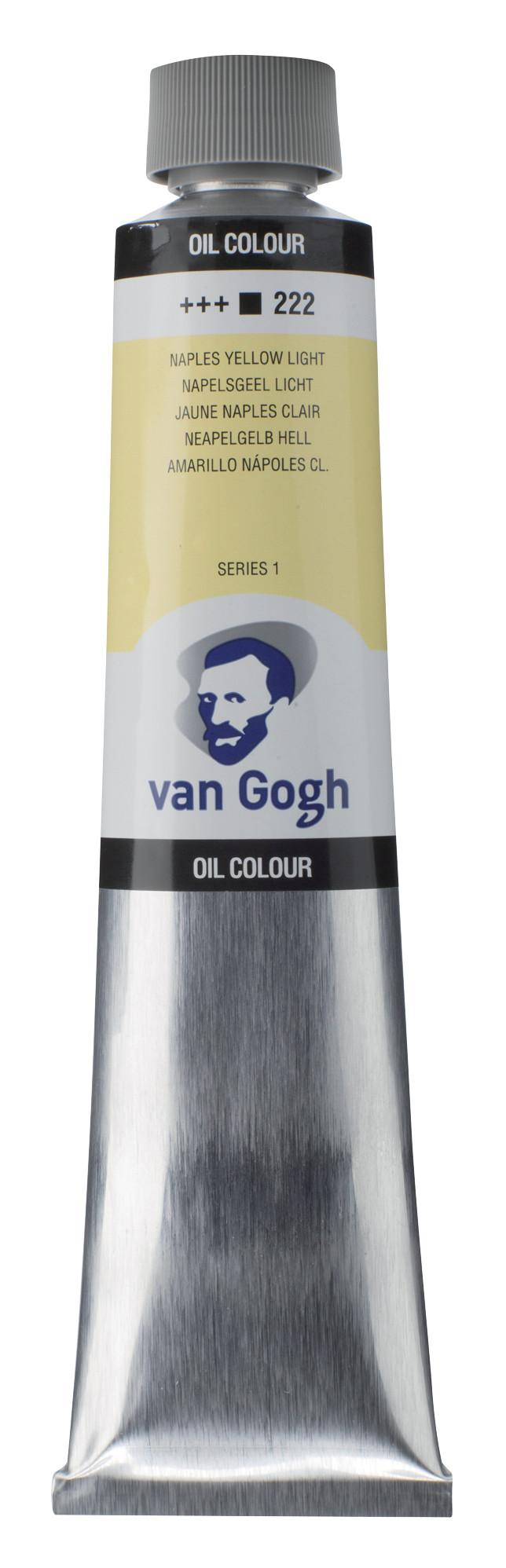 Van Gogh Oil Colour Tube 200 ml Naples Yellow Light 222